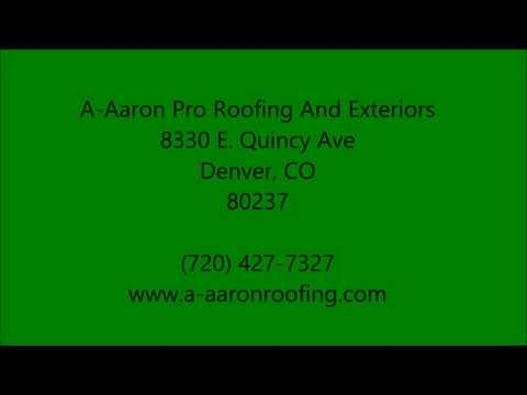Insurance Claims in Centennial , CO - 720-427-7327 - A-Aaron Pro Roofing And Exteriors
