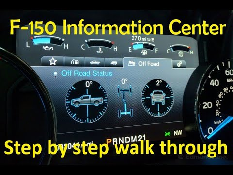F-150 Information Cluster Step By Step