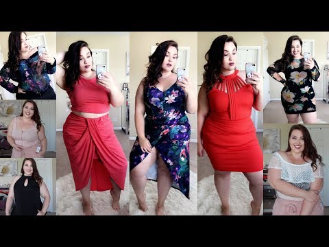 Summer Try On Haul with Fashion To Figure |Plus Size Fashion|