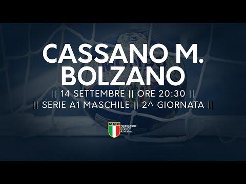 Serie A1M [2^]: Cassano Magnano - Bolzano 27-25