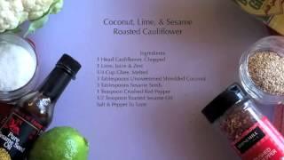 Primal Blueprint Recipe: Green Chicken & Coconut Roasted Cauliflower