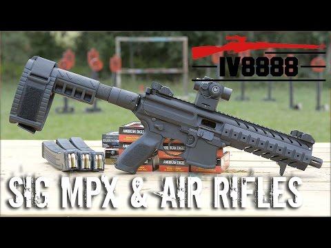 Sig MPX 9mm & MPX Air Rifles