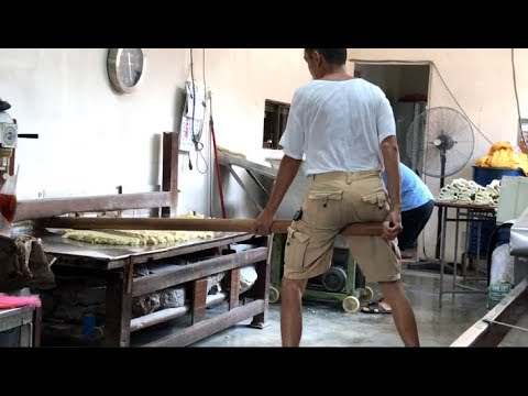 3rd generation traditional noodles factory found in Jenjarom !