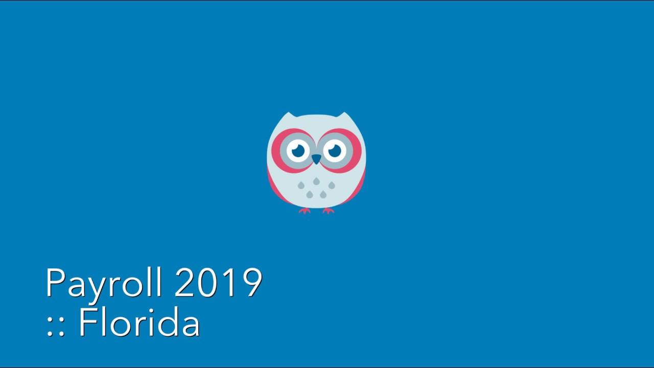 Hibou - Payroll - Florida 2019