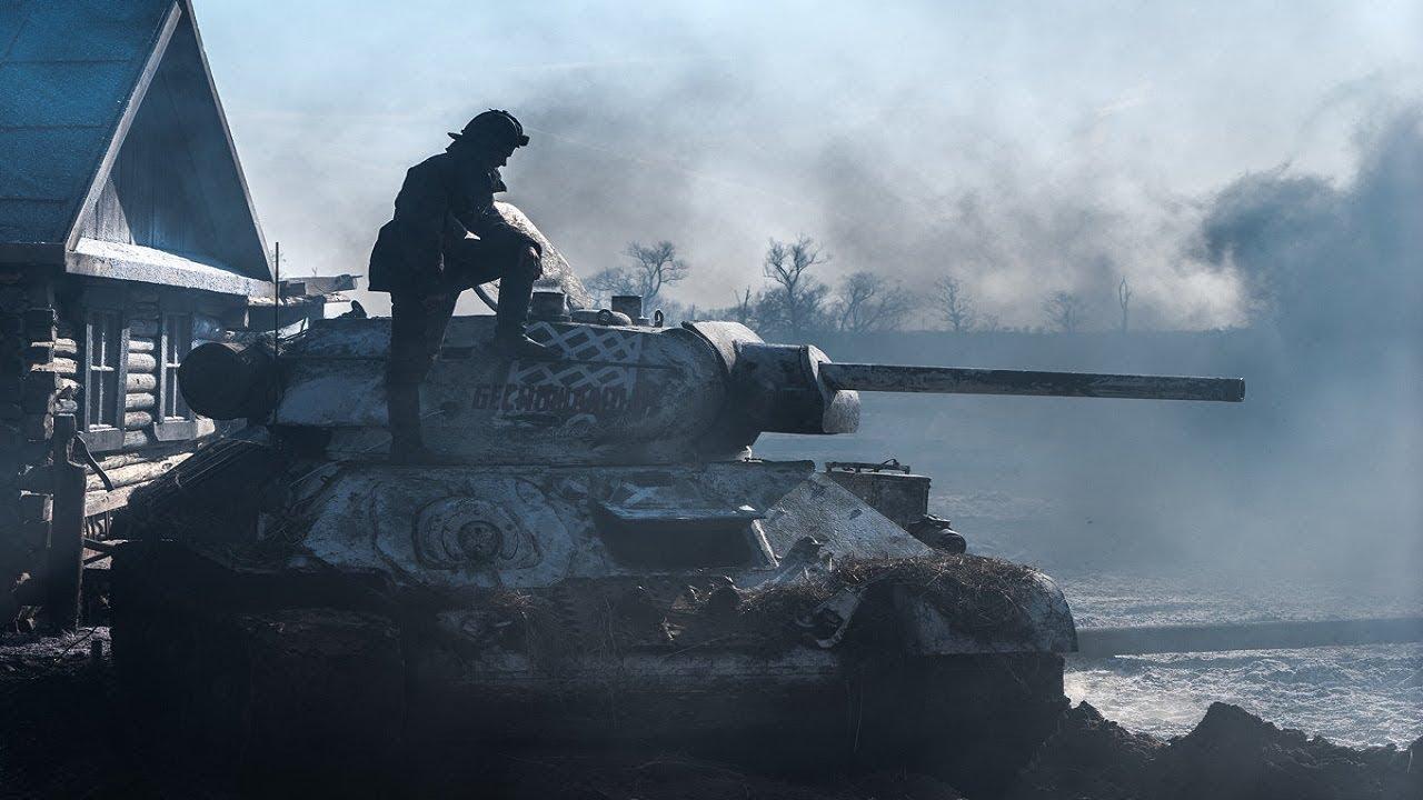 Смотреть фильм «Т-34 (2019)» в хорошем качестве