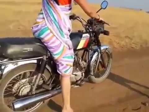 Amazing Desi Girl Bike Stunts | People Are Awesome |  Pulsar Bike Stunts | Talentdunia