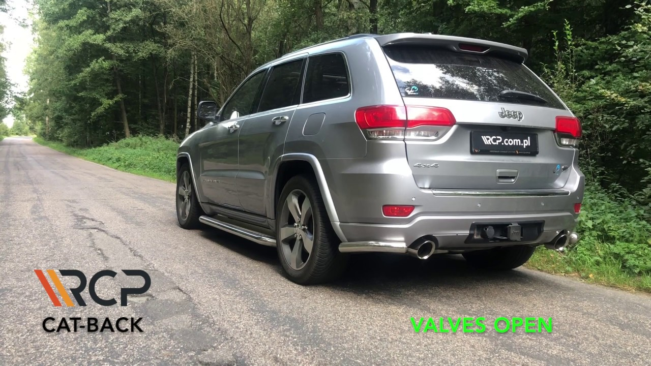 Jeep Grand Cherokee 5 7 V8 Rcp Exhausts Cat Back Exhaust Youtube
