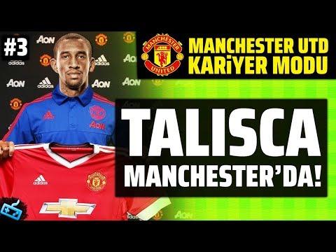 TALISCA MANCHESTER'DA! // FIFA 18 Manchester United Kariyer S3B3
