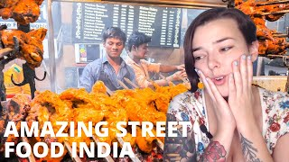 Amazing Street Food India | Compilation | North Indian Street Food | REACTION!!! | Indi Rossi