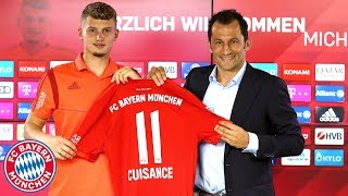 Presentation of Michaël Cuisance w/ Hasan Salihamidžic | FC Bayern Press Conference