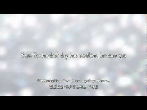Super Junior- 하루에 (A Day) Lyrics [Eng. | Rom. | Han.]