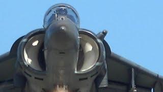 あり得ない寄せ ‼ 2017岩国FSD・AV-8Bハリアー