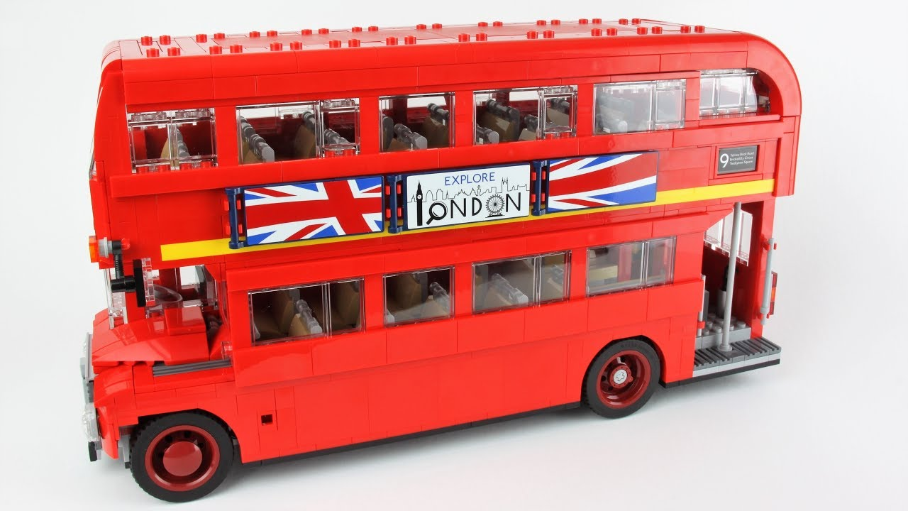 lego london bus unboxing speed build and review lego creator expert 10258 youtube. Black Bedroom Furniture Sets. Home Design Ideas