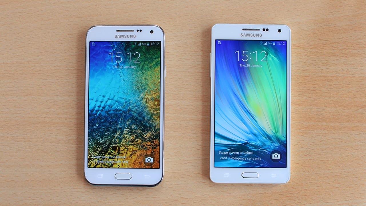 Samsung Galaxy A5 vs Galaxy E5 Speed Test! - YouTube