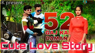 52 Gaj Ka Daman | cute love story | RENUKA panwar | latest hariyanvi song 2020 | by Imran khopoli
