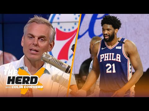Trust or Trade? Colin chooses players he would trade 76ers' Joel Embiid for   NBA   THE HERD