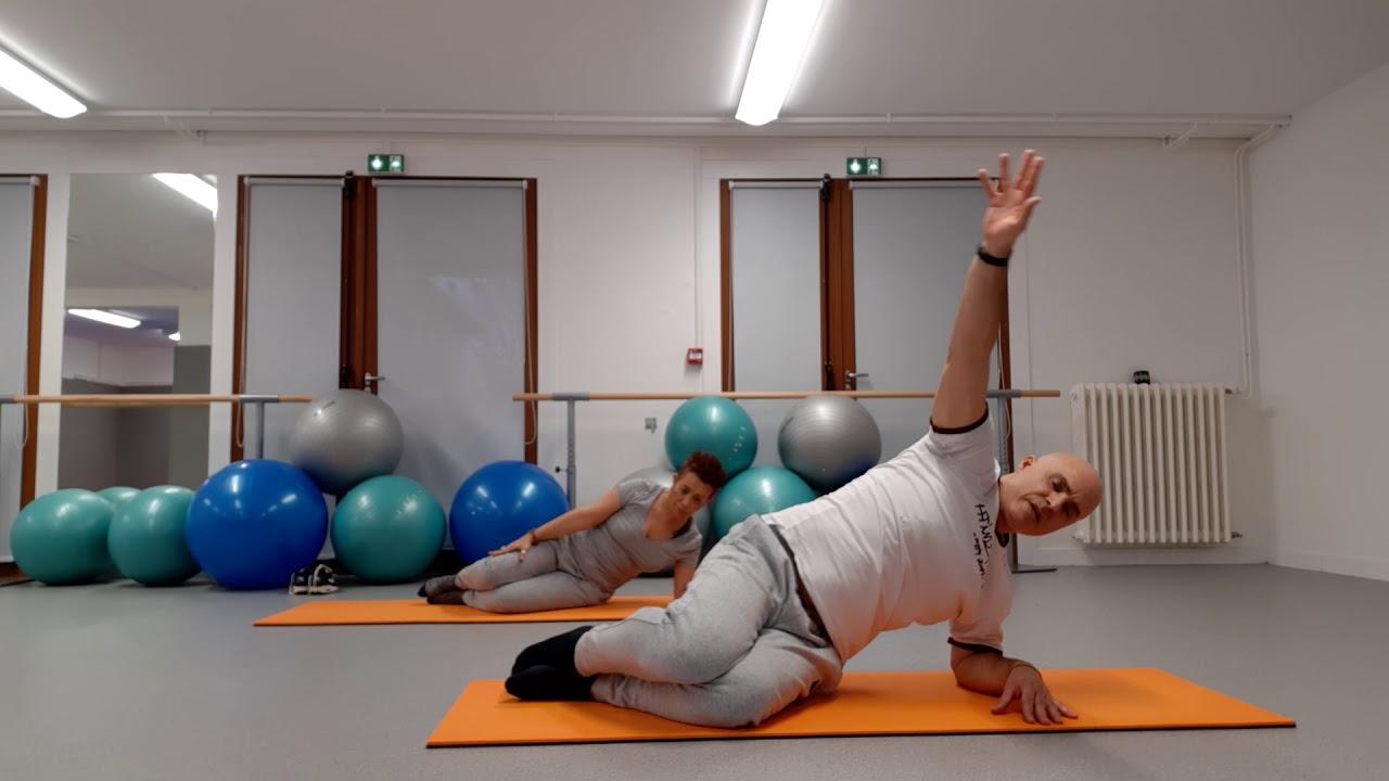 Un duo très sportif : Pilates pour les confirmés