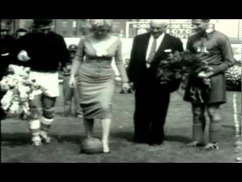 Footage of Marilyn Monroe Kicking Some Balls At Ebbets Field 1957 from YouTube · Duration:  24 seconds