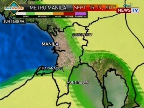 BP: Weather update as of 4:13 p.m. (Sept. 15, 2017)