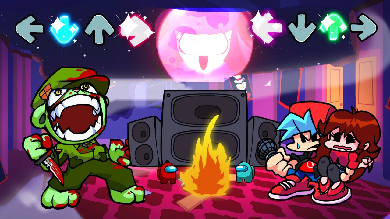 Friday Night Funkin' - Flippy wants to Crucify BF and GF (Flippy and BF Sings Taki's Songs)