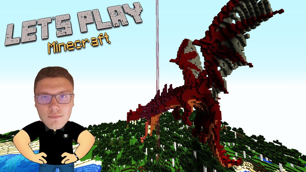 Construiesc un DRAGON...Suntem 2 acum!-Let's play Minecraft ep 99