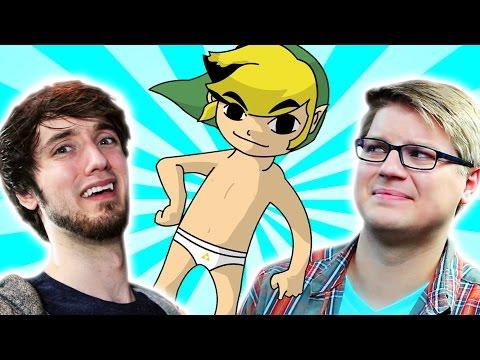 Weird Zelda Fan Games - PeanutButterGamer & Chadtronic