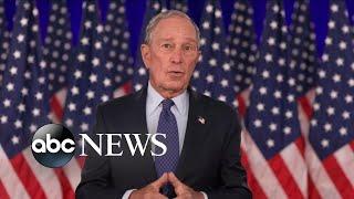 Michael Bloomberg speaks at DNC 2020