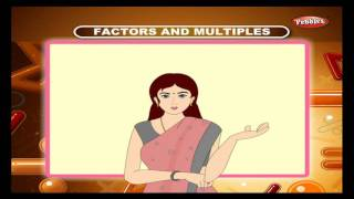 Cbse 4th CBSE Maths | Factors And Multiples | NCERT | CBSE Syllabus | Animated Video thumbnail