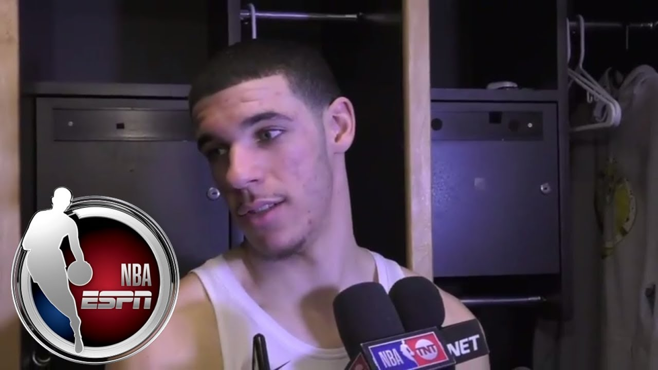 Lonzo Ball reflects on first matchup with LeBron James | ESPN