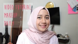 Tutorial makeup natural sehari hari
