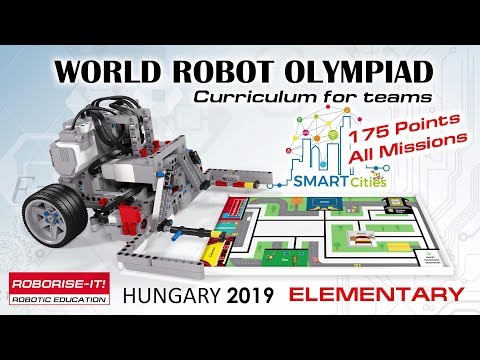 WRO 2019 Elementary 175 Points  Roboriseit curriculums for