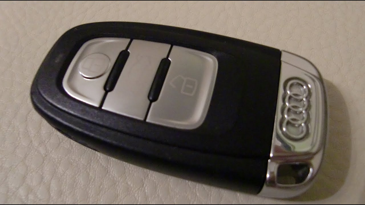 Audi A4 Replace Battery Remote Radio Control Key Fob