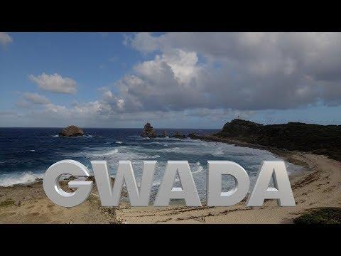 Kitesurf en guadeloupe ( gwada ) filmé en Drone