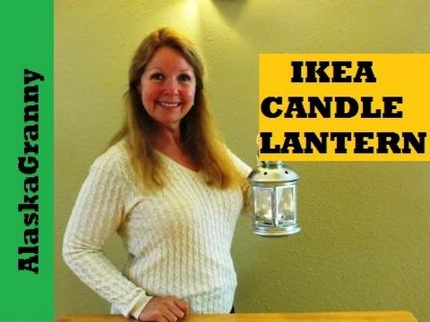Candle Lantern From Ikea - Rotera