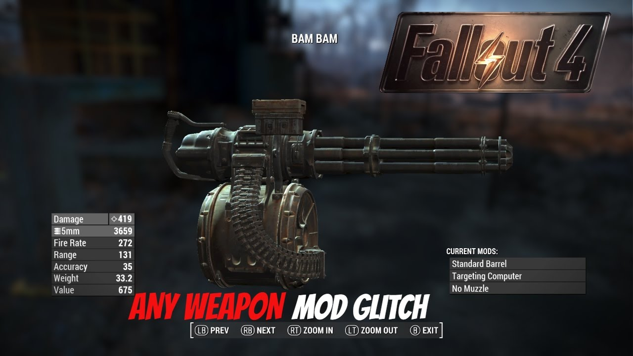 picture - Fallout 4 Any Mod Any Weapon