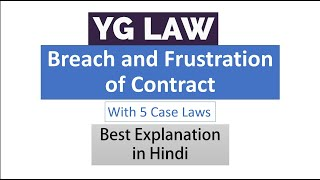 Breach and Frustration of Contract