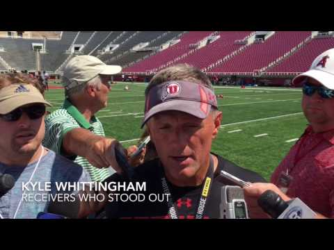 Kyle Whittingham talks Utah's second fall scrimmage (The Sal