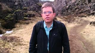 Þingvellir - sprickan genom Island