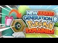 NEW LEAKED GENERATION 8 POKEMON ORIGIN AND TYPING EXPLAINED! (THEORY)