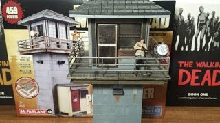The Walking Dead Prison Tower Building Set Review (hd)