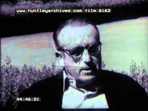 Harold Lloyd Interview, 1960's - Film 6163