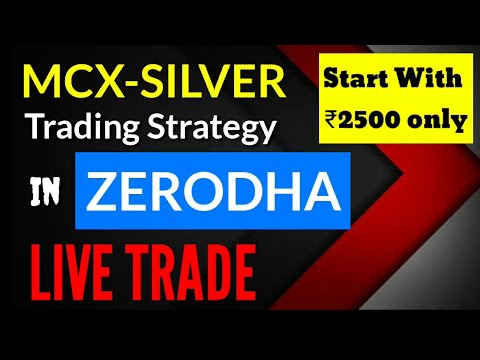 SILVER trading Strategy Zerodha Commodity in hindi | Commodity trading for beginners | Share Tips