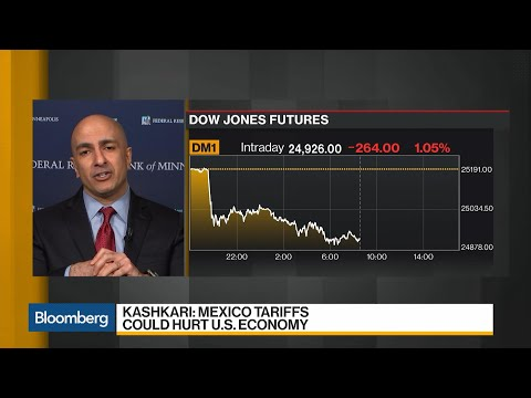 Kashkari: Mexico Trade War Could Be Costly for U.S. Economy