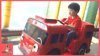 타요 키즈 카페 어린이 운전 놀이 미니 꼬마 버스 ♡ 타요버스 자동차 장난감 Tayo kids toys тайо автобус Игрушки | 말이야와아이들 MariAndKids