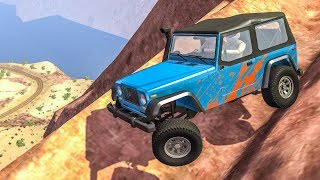 OFF ROAD CRASHES #1 - BeamNG Drive