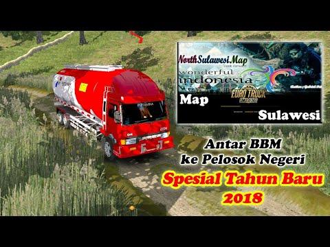 Ngeblong Spesial Tahun Baru 2018 Antar BBM ke Pelosok Negeri Map Sulawesi - 동영상