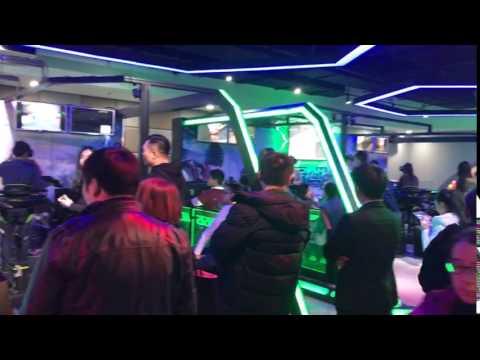 《Crisis Action》 Virtuix Omni  5V5 Online Battle