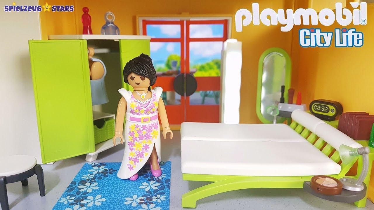 Playmobil neues Schlafzimmer (9271) 🛏️ aufbauen + einreichten für Modernes  Wohnhaus