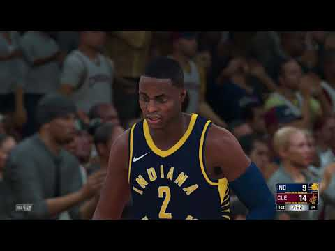 NBA 2K18 Eastern Conference Playoffs 1st Round Indiana Pacers vs Cleveland Cavaliers Game 7