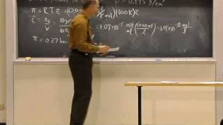 Lec 24 | MIT 5.60 Thermodynamics & Kinetics, Spring 2008